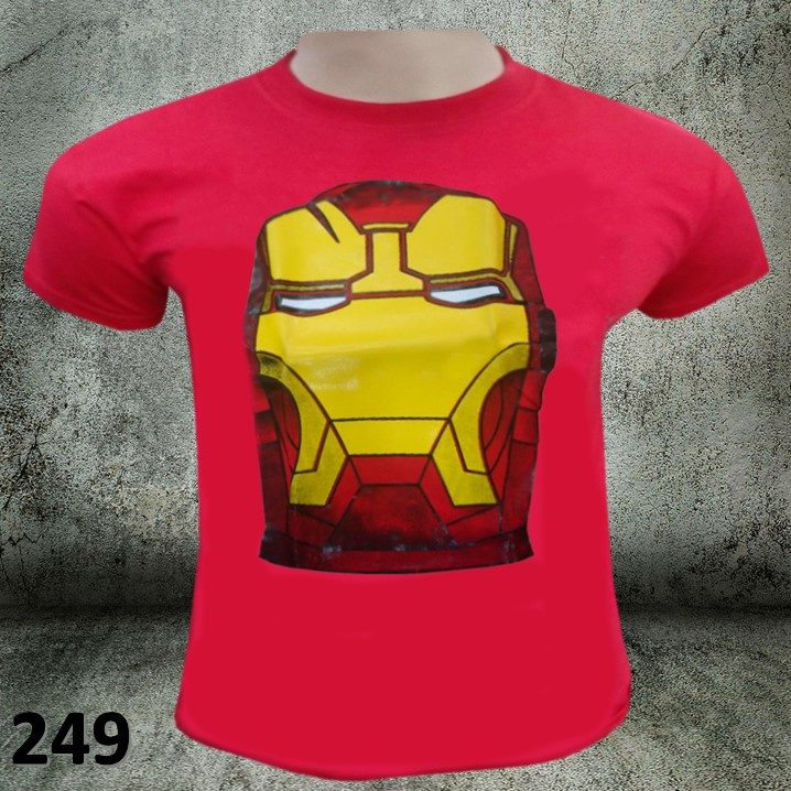 CAMISETAS ESTAMPADAS IRONMAN