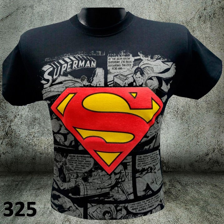 CAMISETAS ESTAMPADAS SUPERMAN