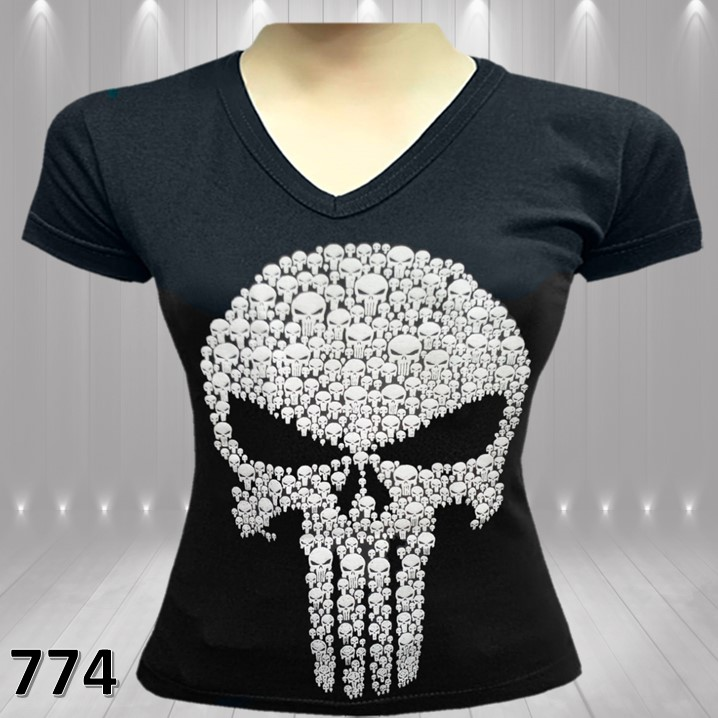 CAMISETAS ESTAMPADAS THE PUNISHER