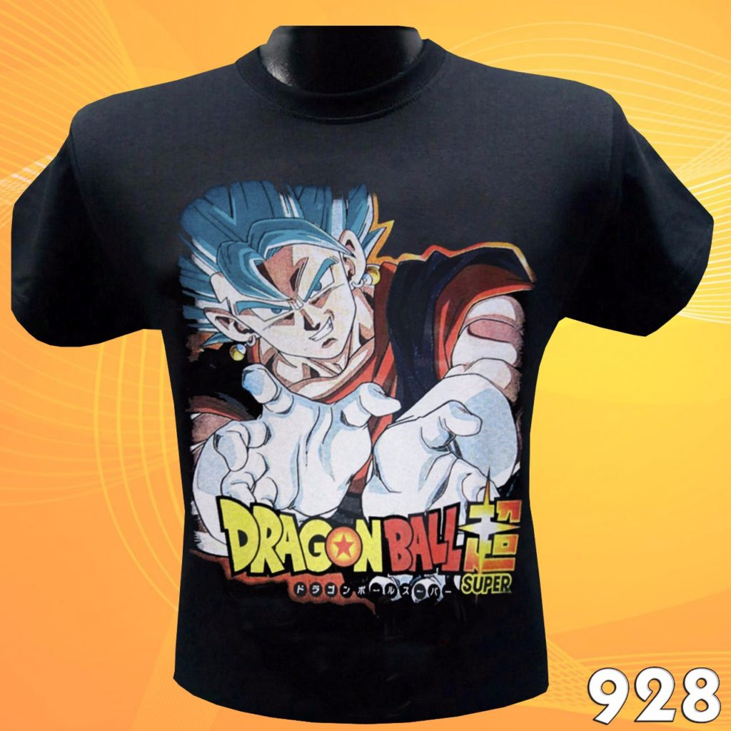 CAMISETAS ESTAMPADAS DRAGON BALL