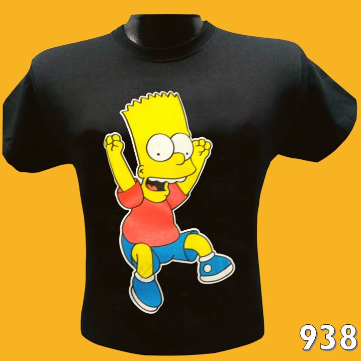 CAMISETAS ESTAMPADAS BART SIMPSON