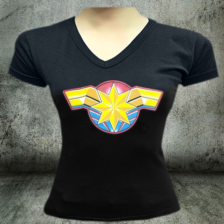CAMISETAS ESTAMPADAS CAPITANA MARVEL