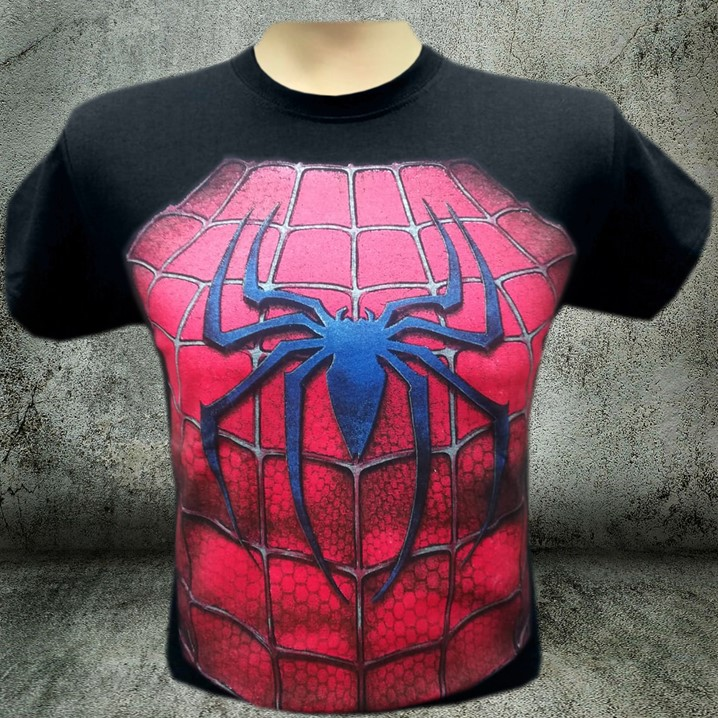 CAMISETAS ESTAMPADAS SPIDERMAN